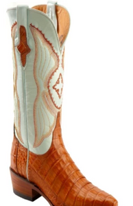 Rockwell Tharp Nyla Black and Turquoise Knee High Boot
