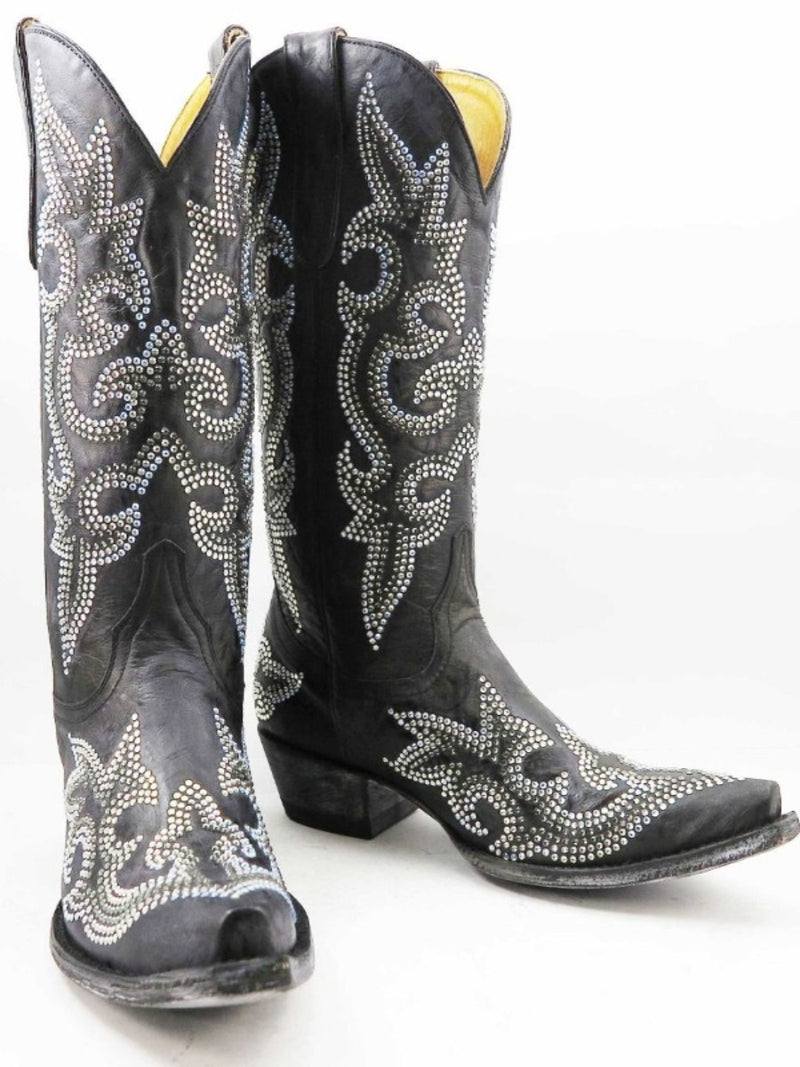 Old Gringo Diego Crystal Boots~ Black   Style L1202-2 - Cowgirl Kim