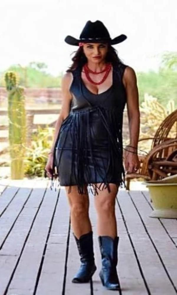 Wild Instincts Mini Dress~ Black - Cowgirl Kim