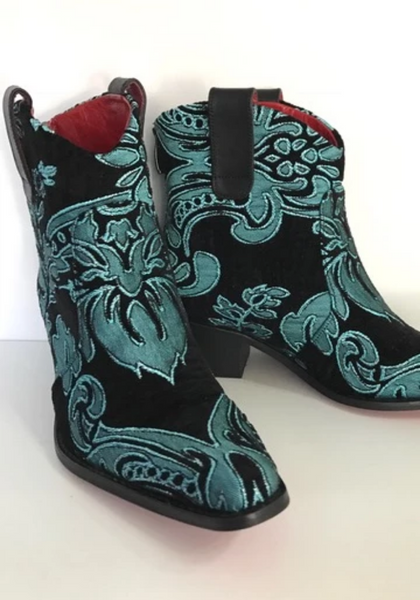 Rockwell Tharp Nyla Short Cowboy Bootie