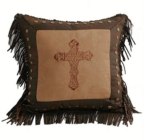 Cowgirl Kim Cross Toss Pillow - Cowgirl Kim