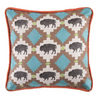 Cowgirl Kim Reversible Buffalo Pillow