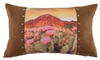 Cowgirl Kim Serape Collection Printed Desert Landscape Pillow