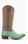 Miss Macie Pure Prairie Boots ~ Turquoise- size 7 - Cowgirl Kim