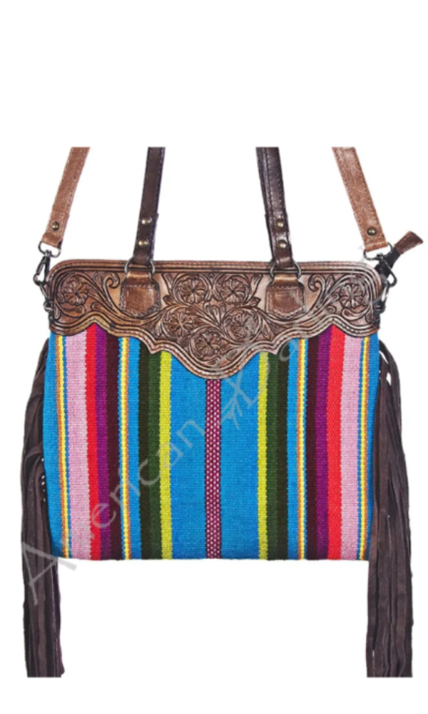American Darling Summer Serape Top Handle Bag