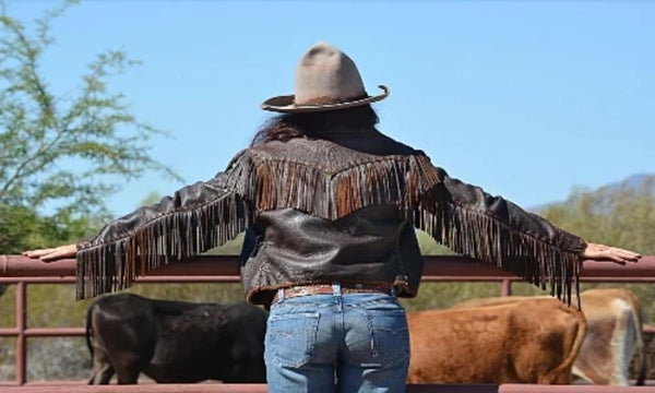 Wild Instincts Great Plains Jacket~ Distressed Black
