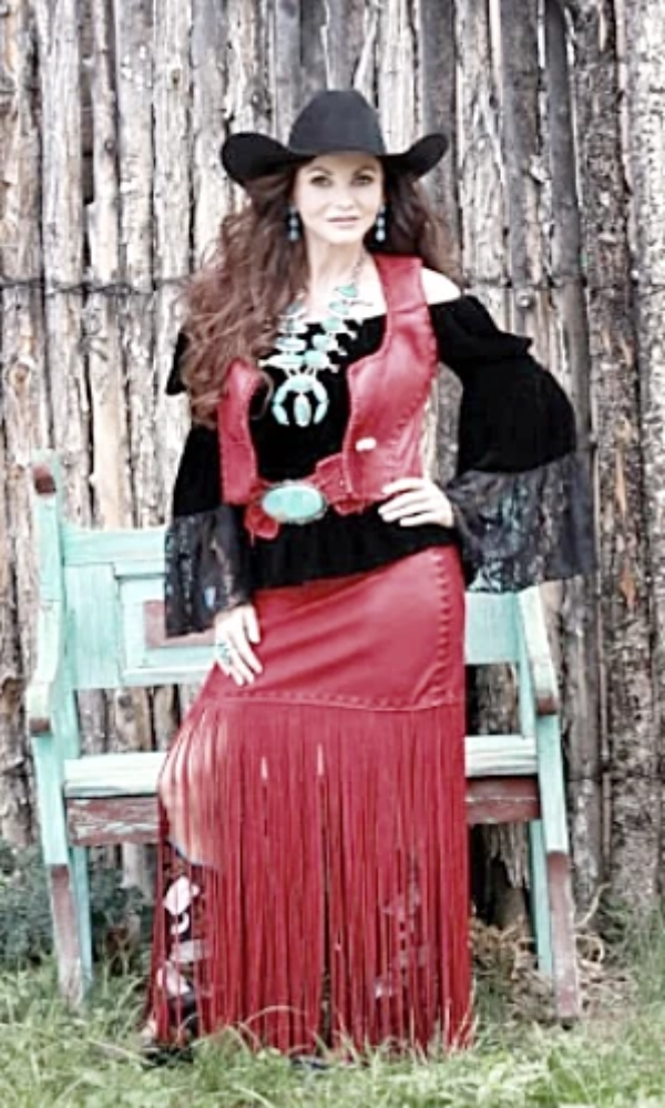 Copy of Wild Instincts Casa Grande Vest~ Red - Cowgirl Kim