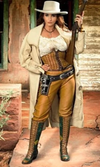Wild Instincts Leather Pants~ Light Acorn - Cowgirl Kim