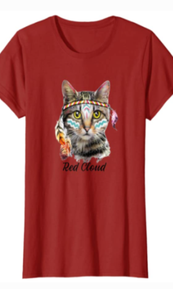 Cowgirl Kim Chief Red Cloud Tee