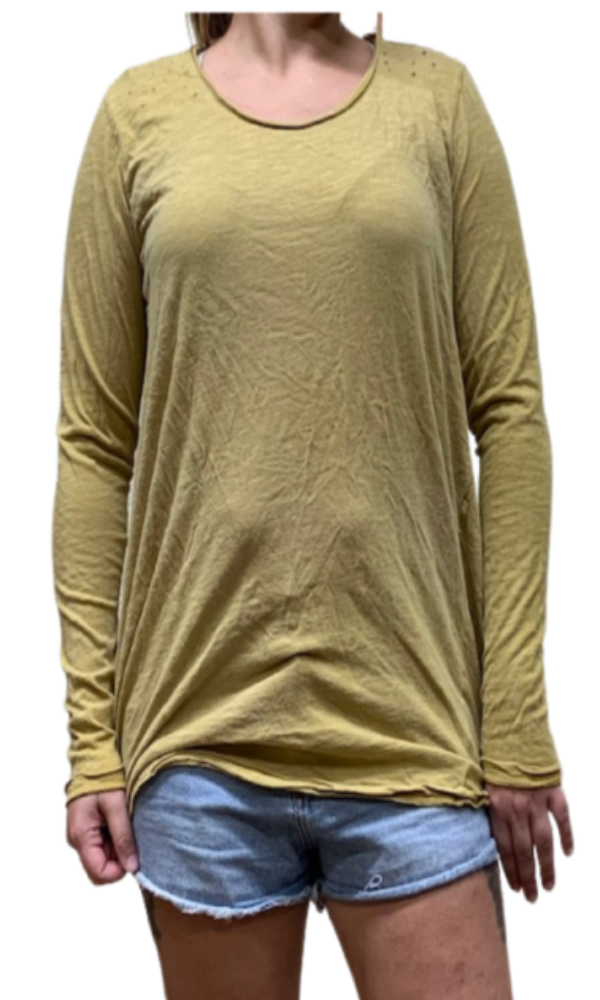 Magnolia Pearl Top 365 Jersey Dylan T~ Marigold