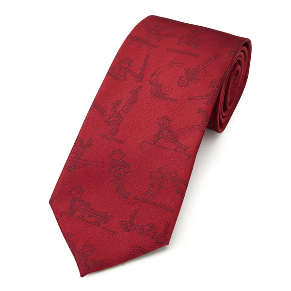 PICTOGYM TIE - RED