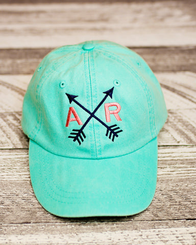 82a38162 Monogrammed Arrow State Hat