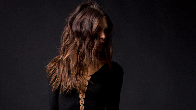 Get the Signature Cuvée Tousled Look with Champagne Spray