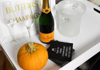 PUMPKIN CHAMPAGNE COCKTAIL RECIPE