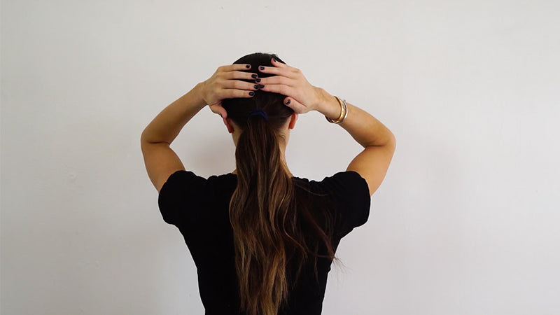 How To: Sleek Low Pony In 3 Easy Steps With Styling Balm