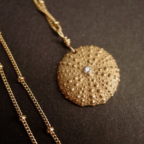 Vis à Vis Jewelry Baby Sea Urchin Necklace - Not Only Bags