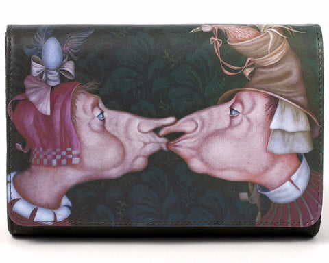 "Unabashed™ ""Kiss"" by Saré Leather Handbag - Not Only Bags"