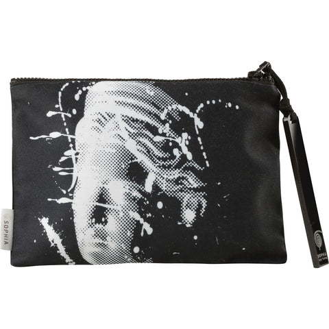 Sophia Artemis Splash Black Pouch - Not Only Bags