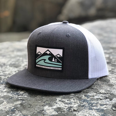 Seas and Summits Printed Patch <br> Wool Front Snapback
