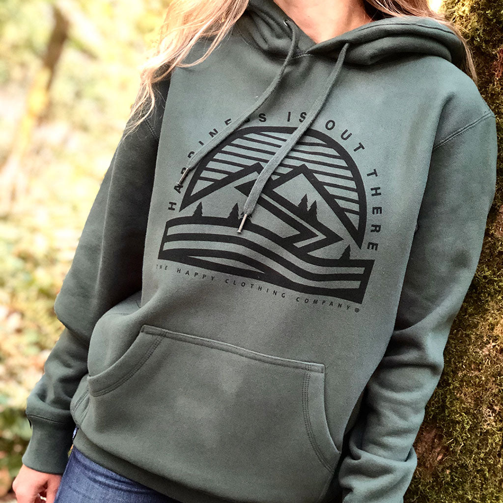 Happiness Is Out There <br> Unisex ULTRA Heavyweight Hooded Sweatshirt
