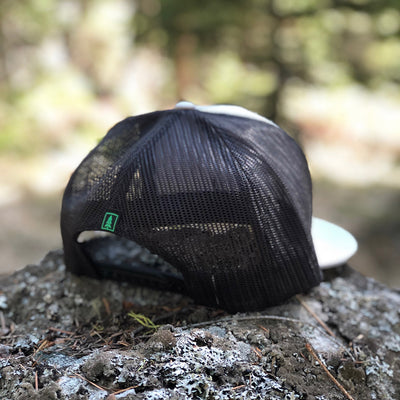 Nature Bound Printed Patch <br> High-Profile Snapback - The Happy Clothing Company... Outdoor apparel with a cause.