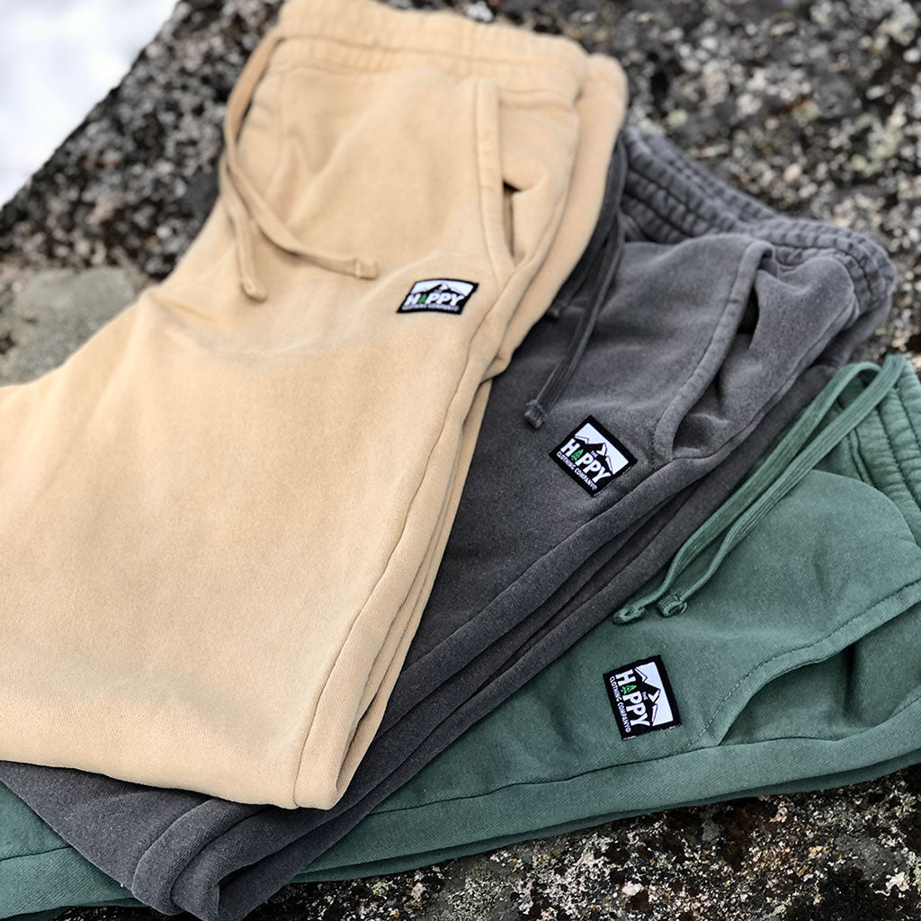 Logo Label Inspired-Dye <br> Jogger-Style Sweats | Mountain Edition |