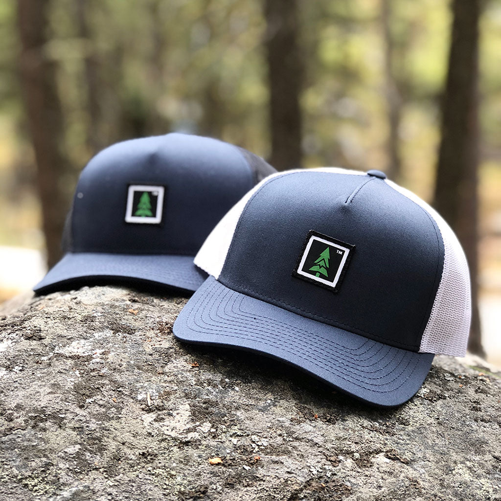 Mountain Tree Printed Patch <br> Mid-Profile Snapback