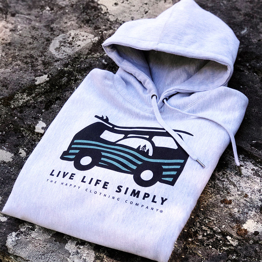 Live Life Simply (Ocean Edition) <br> Unisex ULTRA Heavyweight Hooded Sweatshirt
