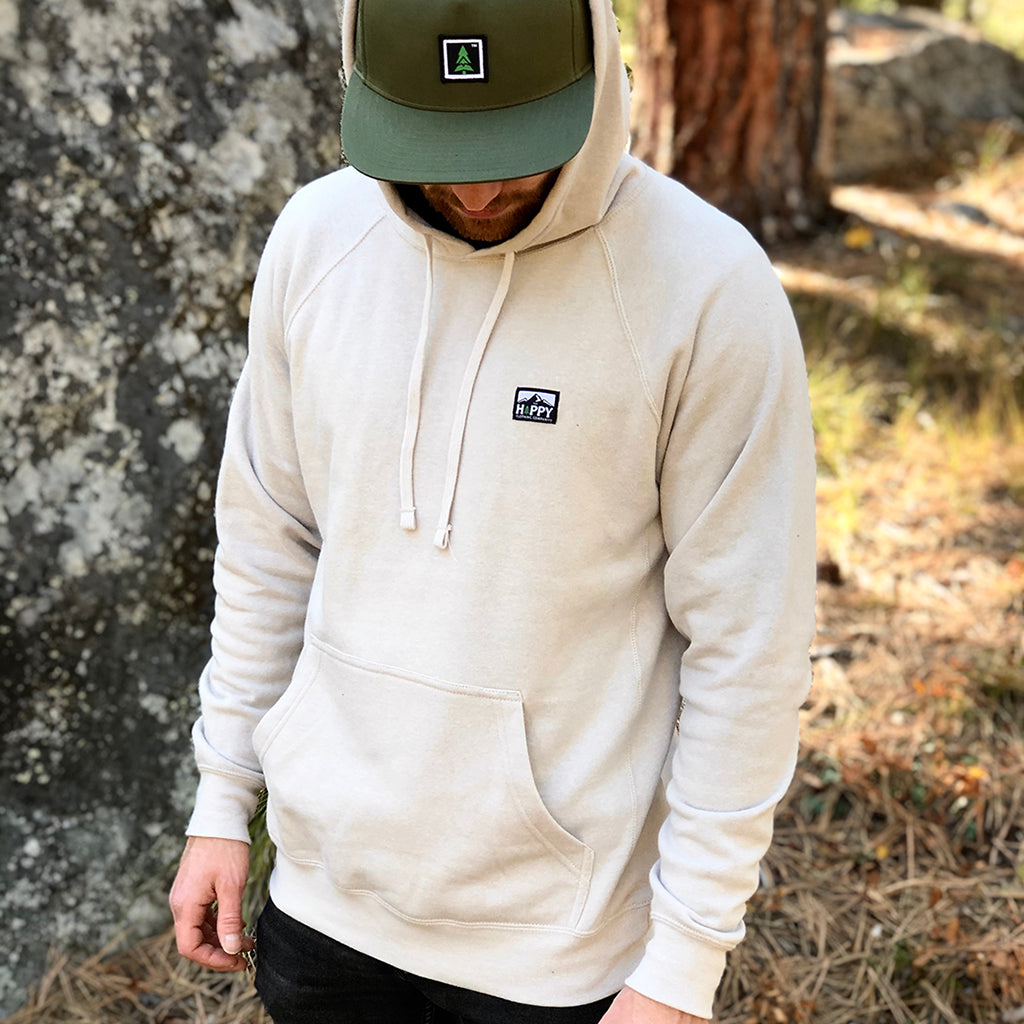 Logo Label Special Blend <br> Mid-weight Raglan Hooded Sweatshirt
