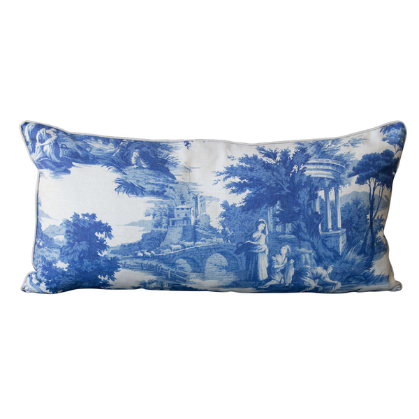 Printed Toille Pillow