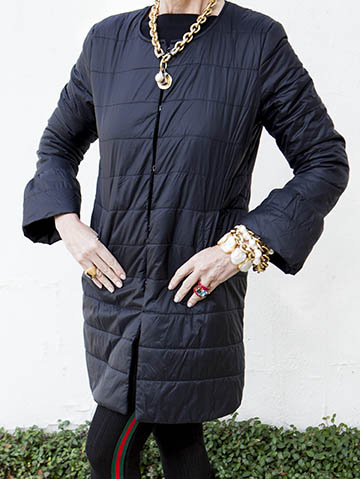 Quilted Kelly Coat