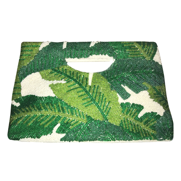 Banana Leaf Clutch