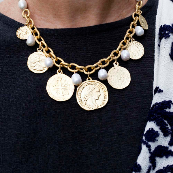 Anne Coin Necklace