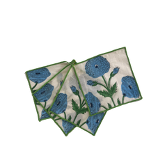Mughal Flower Cocktail Napkins