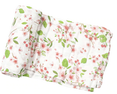 Cherry Blossoms Swaddle
