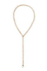 Double Clasp Chain Necklace