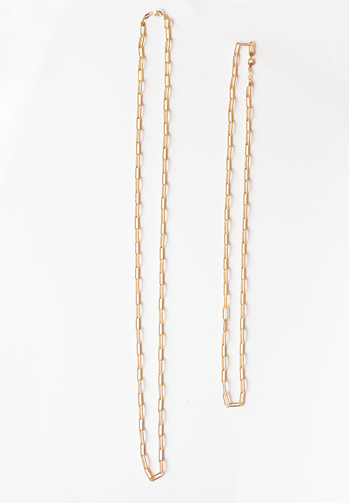 Thick Paperclip Chain