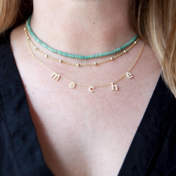 Delicate Turquoise Choker