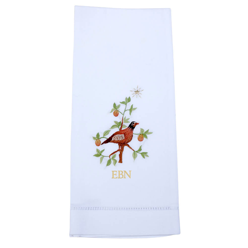 Partridge Pear Tree Guest Towel