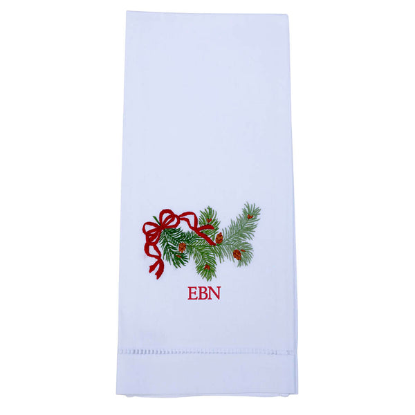 Pine Bough Guest Towel