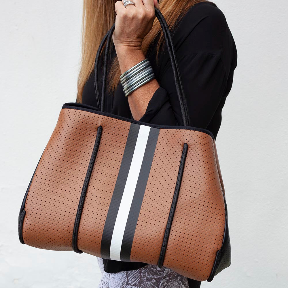 Saddle Neoprene Tote
