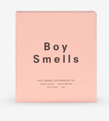 Boy Smells June's Candle