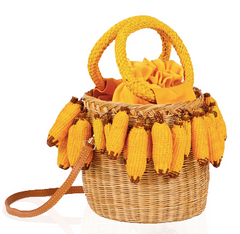 Bananas Mini Basket Purse