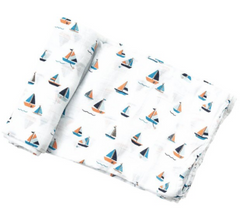Simple Boats Swaddle