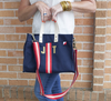 Minnie Stripe Tote