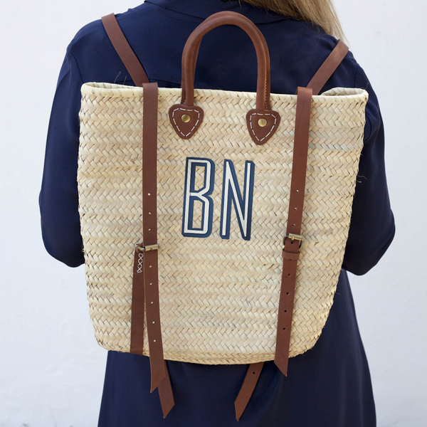 Panama Straw Backpack