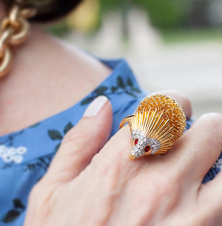 Hedgehog Ring