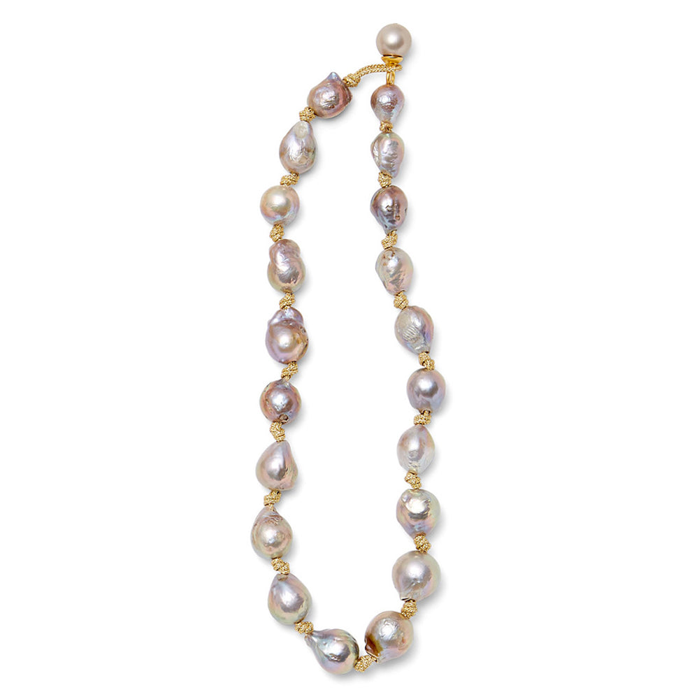 Pearl Cording Necklace