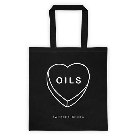 Heart Oils - Tote bag - The Sweet Oil Shop
