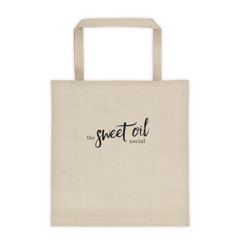 Sweet Oil Social - Tote bag - The Sweet Oil Shop